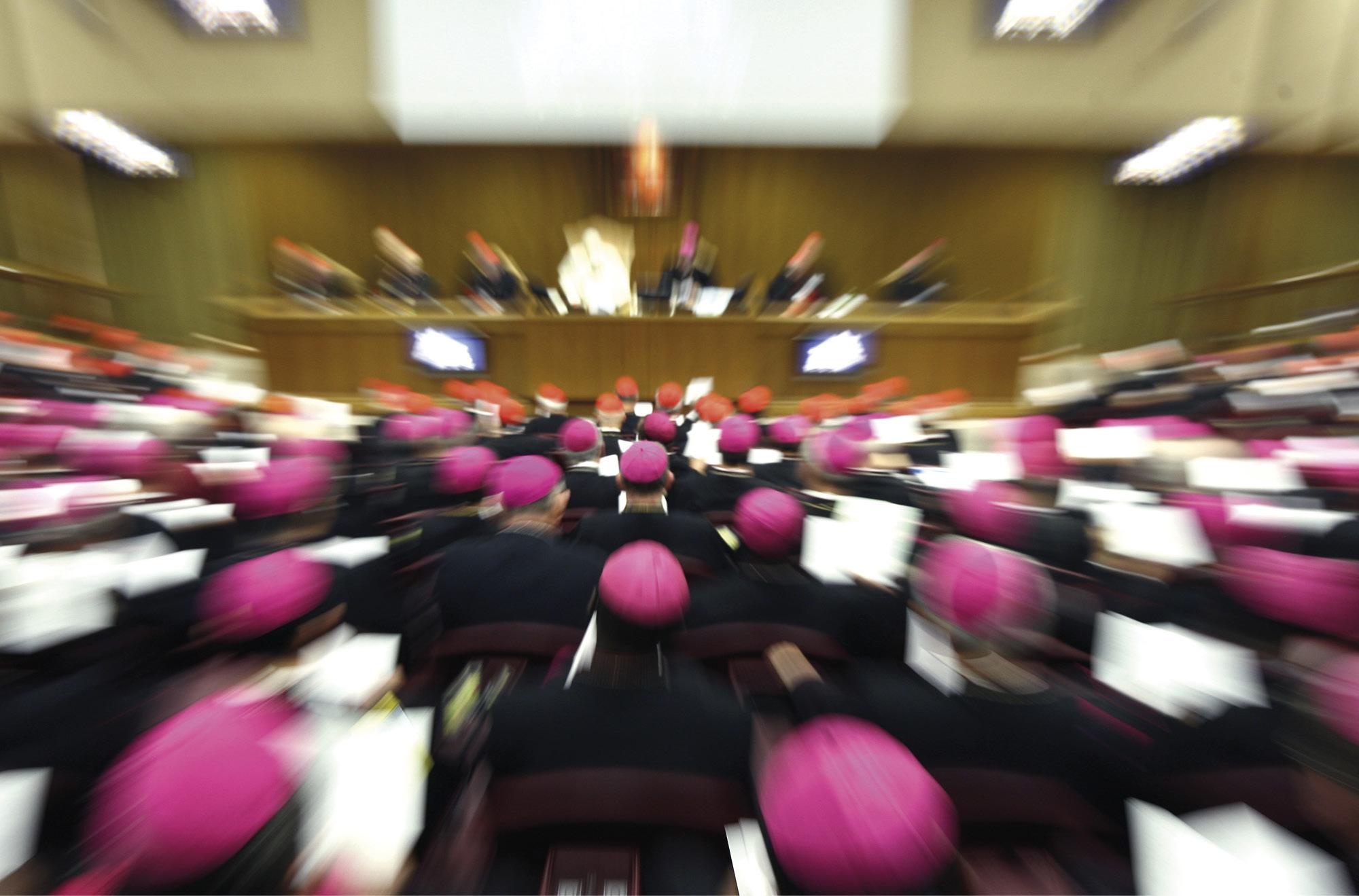 Sínodo dos Bispos, cidade do Vaticano, 2008. Foto Christian Gennari.