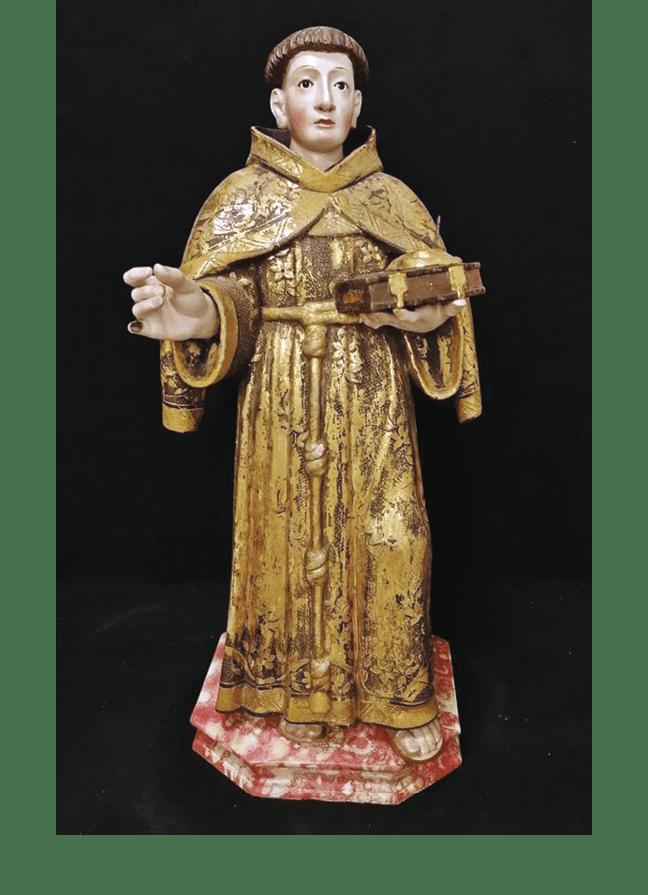 Fig 5 - Santo António - Convento das Salésias de Lisboa – MA Inv. 129/B