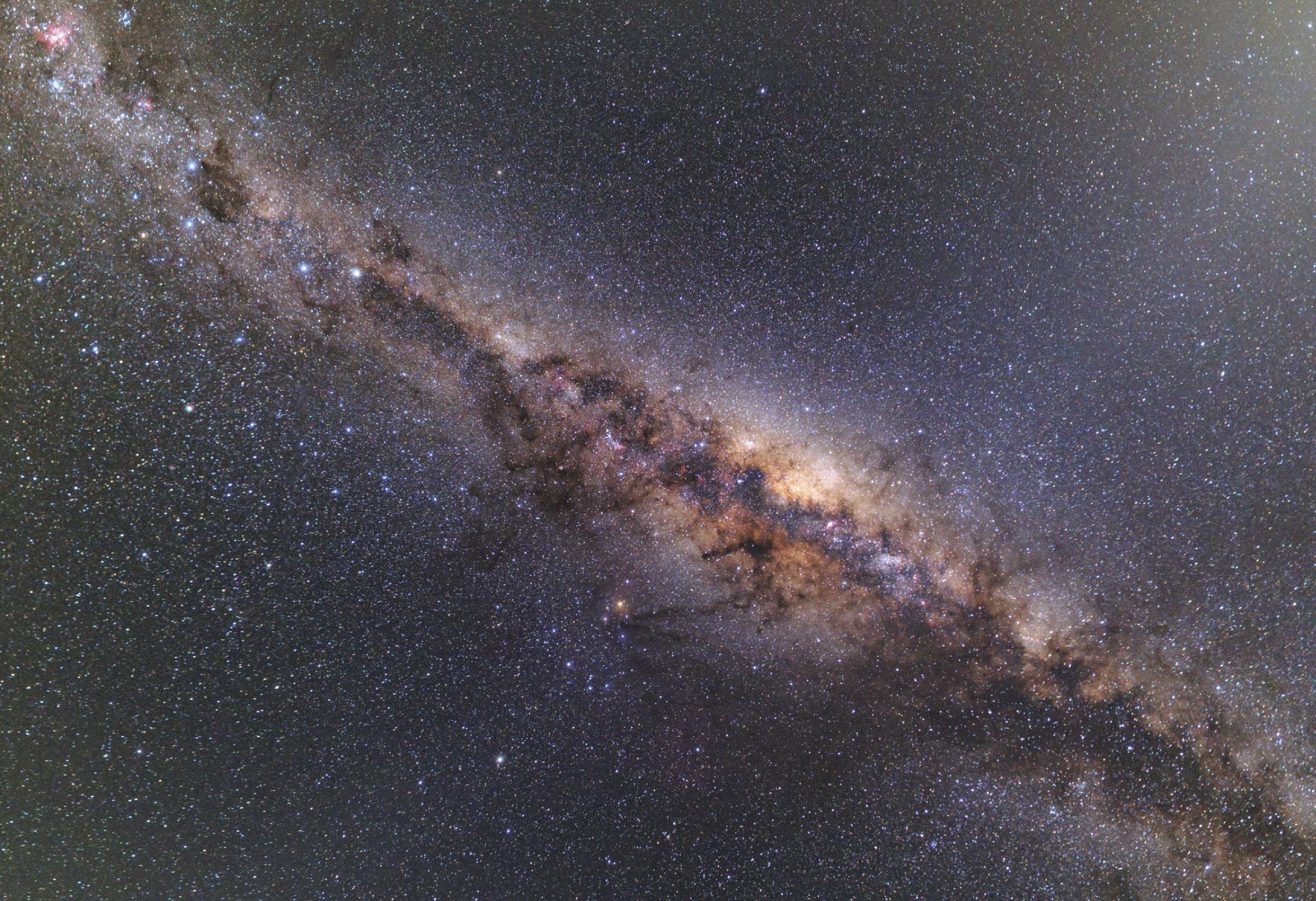 Via Láctea Foto ESO/B. Tafreshi, 2014
