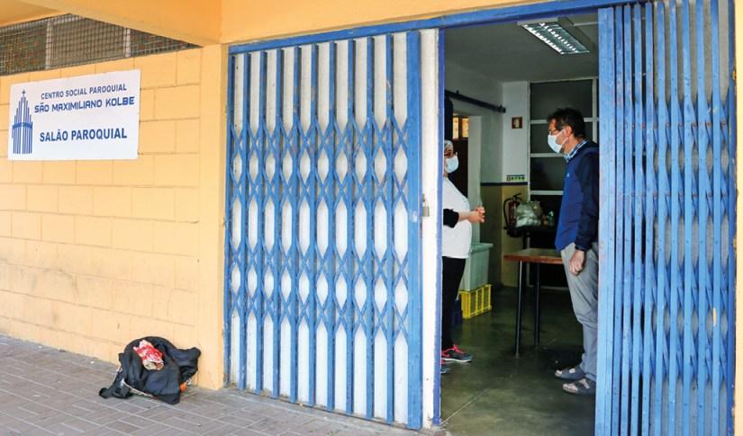 Centro Social Paroquial São Maximiliano Kolbe. Foto Filipe Teixeira, Voz da Verdade, 2021.