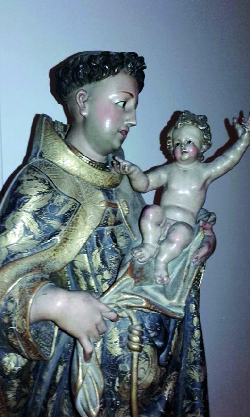 Fig 4 - Santo António com O Menino – Convento das Salésias de Lisboa – MA Inv. 30/B