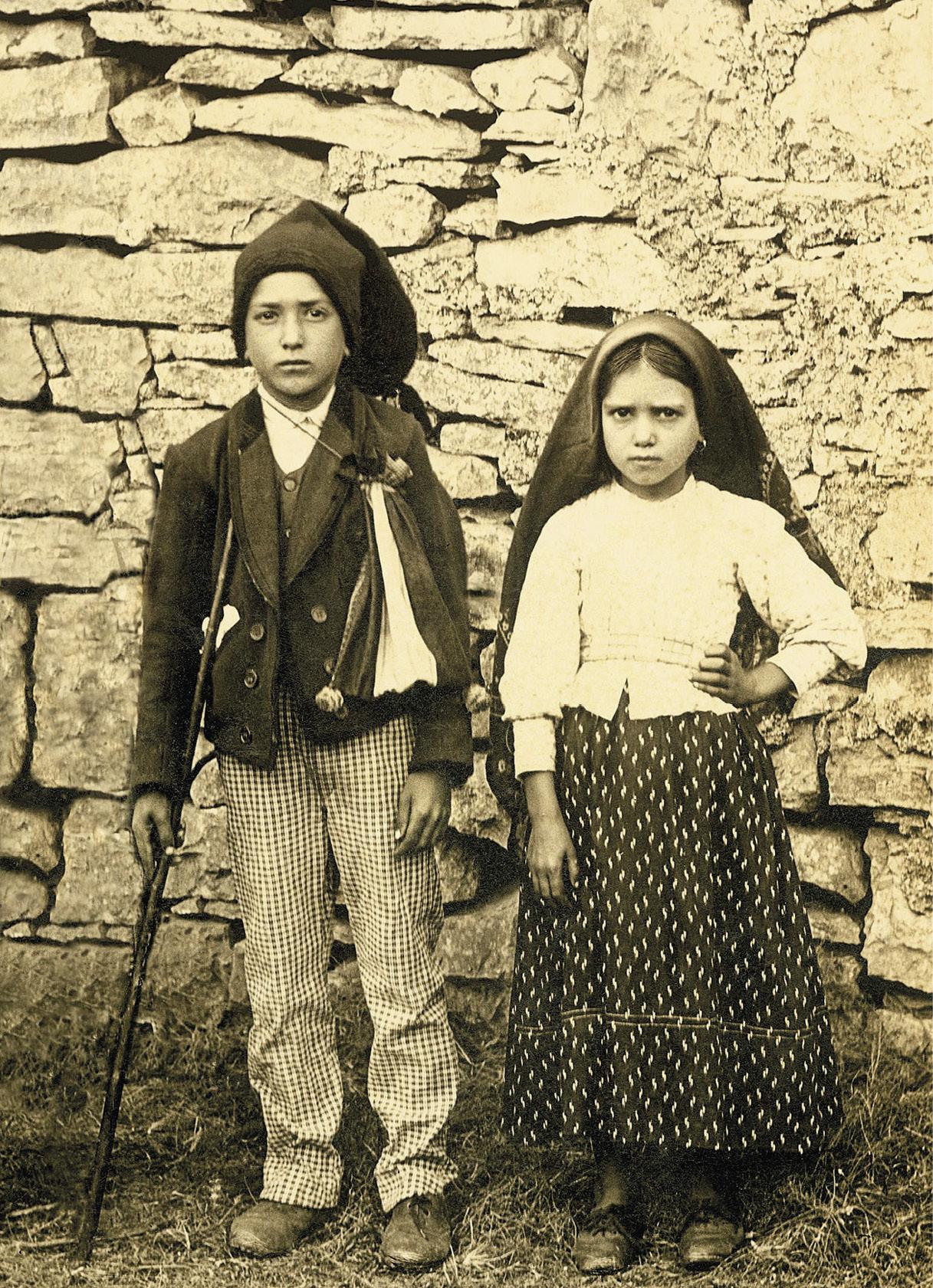 Francisco Marto e Jacinta Marto