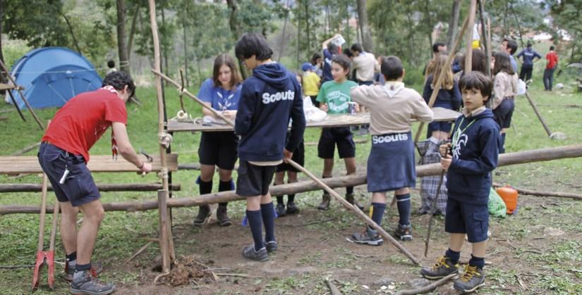 Escuteiros, Agrupamento 109, Santo António dos Olivais. Foto MSA 2019.
