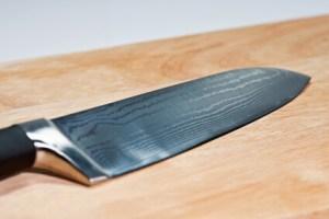 Santoku Damast Messer