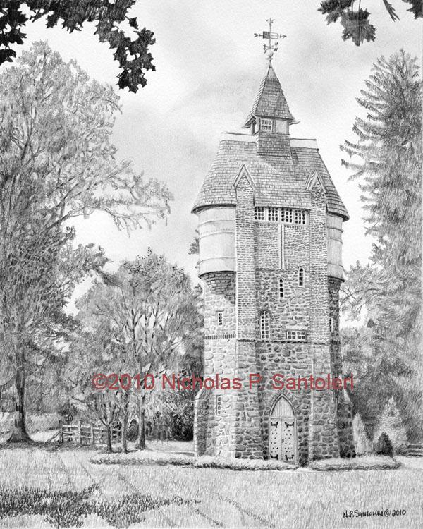Oakbourne Water Tower Santoleri