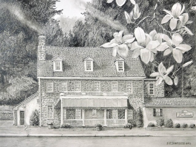 Prints of Providence Pencil drawing by Santoleri