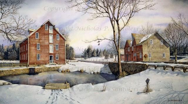 Kirby's Mill by Nicholas Santoleri