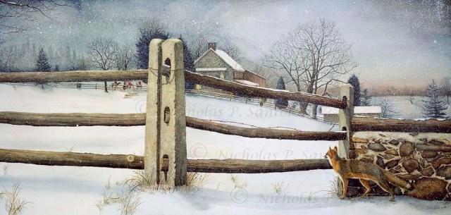 A View of the Hunt By Nicholas Santoleri