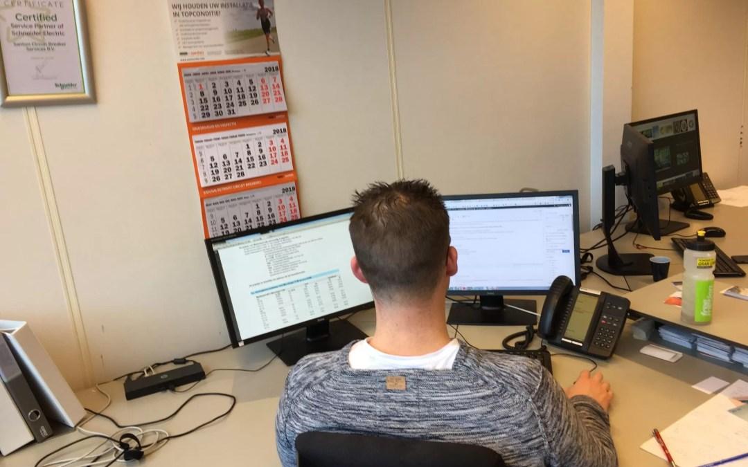 Ambitieuze commerciele elektrotechnicus (binnendienst)