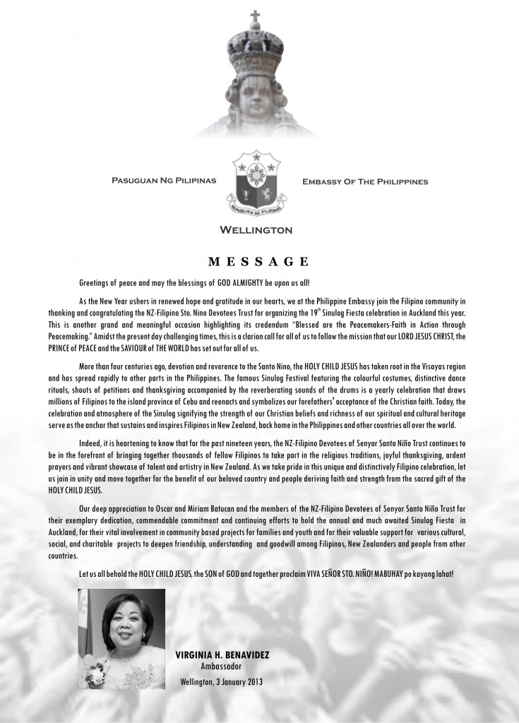 message - ambassador