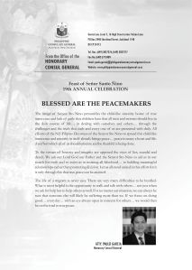 Sinulog 2013 Message from Honorary Consul General Atty. Paulo Garcia
