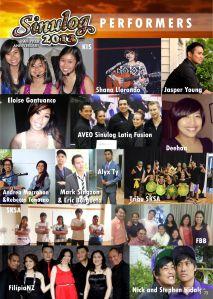 Sinulog 2013 Performers