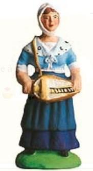 Femme A La Vielle (Woman with Musical Instrument)