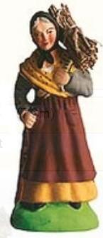 Femme Au Fagot ( Woman with Sticks)