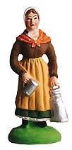 Laitière (Woman with Milk Jug)