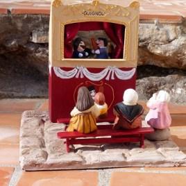 Scène du théâtre de Guignol