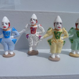 1 clown blanc