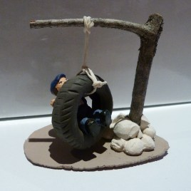 Balançoire pneu