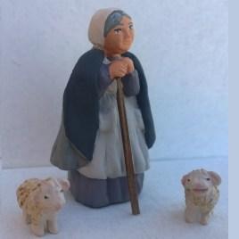 Vieille femme bergère