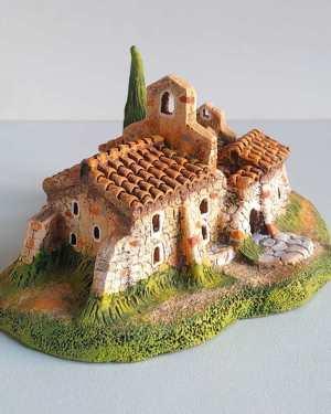 Chapelle de Pépiole santons de provence