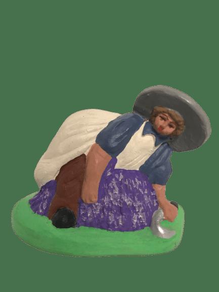 Coupeur de lavandes santons de provence