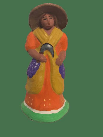Coupeuse de lavandes santons de provence