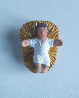 Enfant Jésus santons dalmas