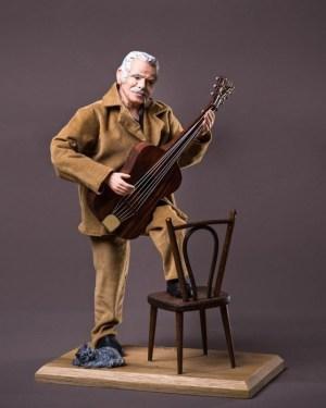 Georges Brassens santons campana