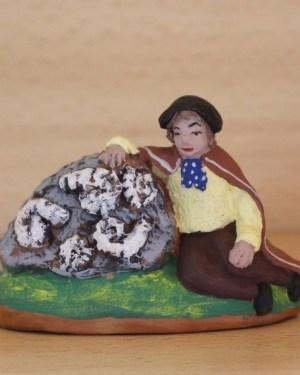 Glaneur d'ammonites santons Volpes