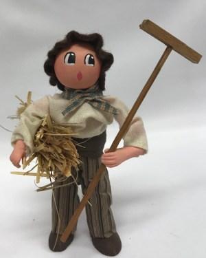 Homme au foin santons de provence