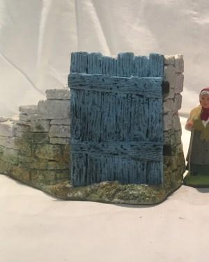 Mur Portail santons de provence