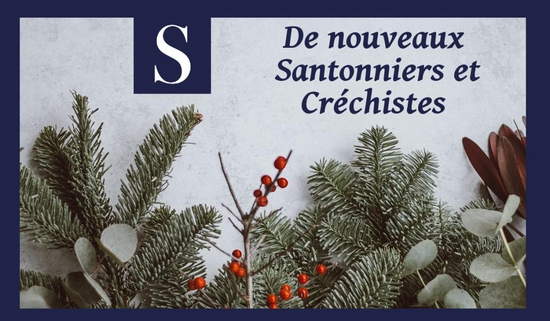 Nouveaux santonniers et créchistes