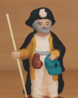 Pèlerin de Saint-Jacques de Compostelle santons Volpes