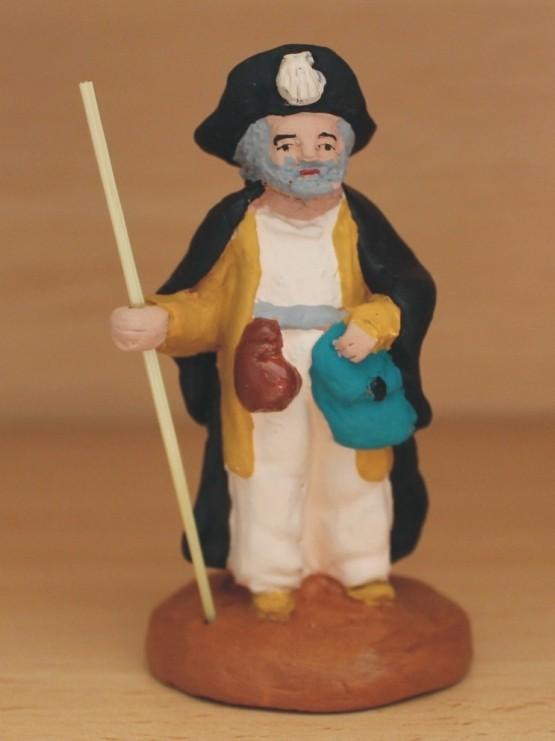 Pèlerin de Saint-Jacques de Compostelle santons de provence