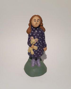 Petite fille santons de provence