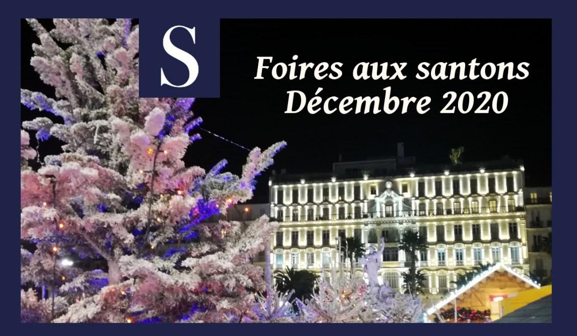 Foires aux santons maintenues en décembre