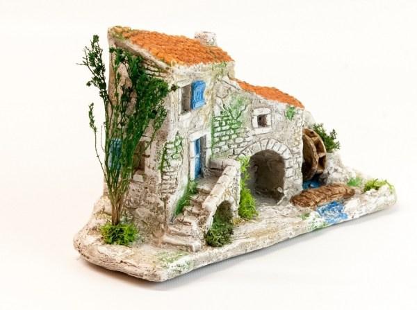Maison de village provençal décor de crèche