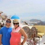 Babymoon in Santorini