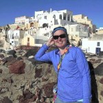Santorini the island that never rests