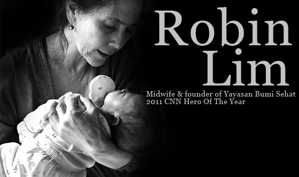 robin lim bumi sehat foundation