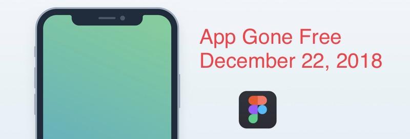 App gone free December 22, 2018