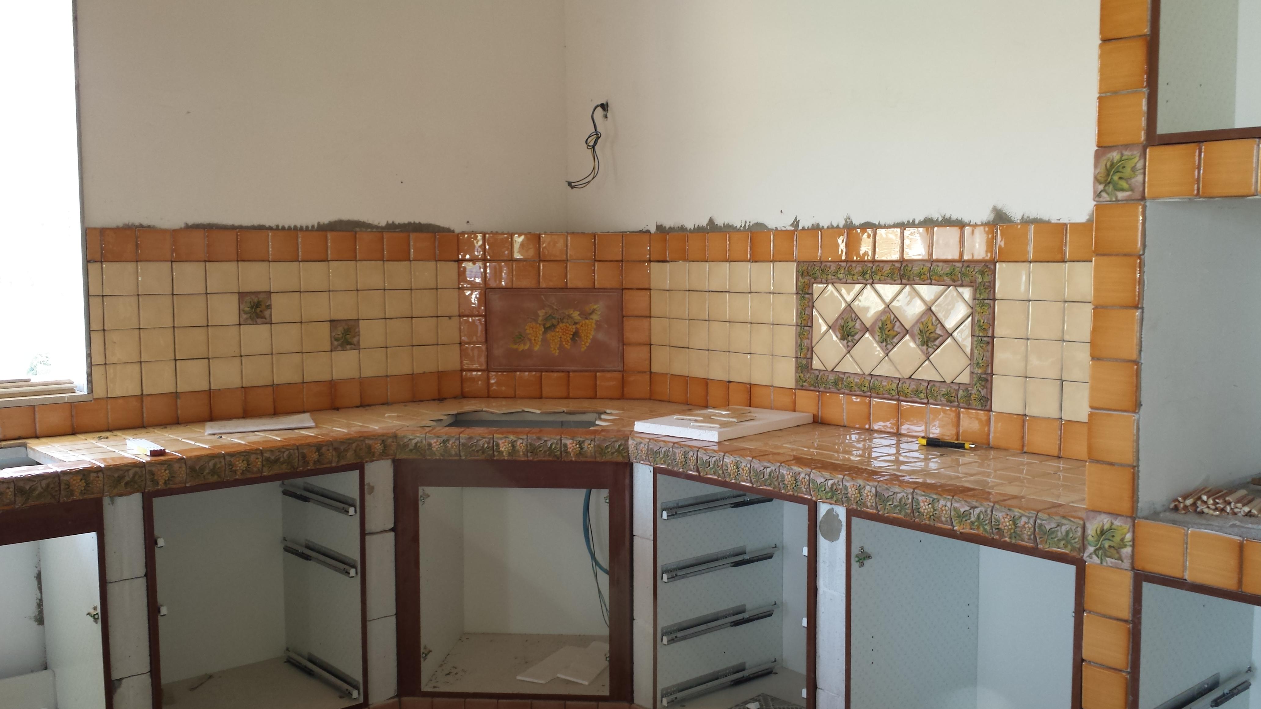 Rivestimento Cucina Muratura