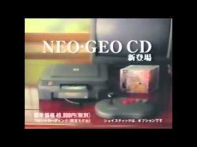 NEOGEO CD CM (3バージョン)