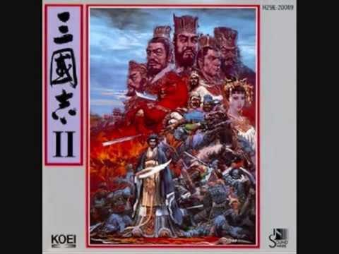 光栄 サウンドウェア 三国志Ⅱ GAME MUSIC Romance of the Three Kingdoms2