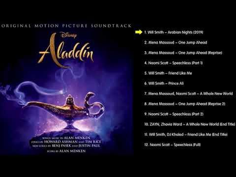 🎵 Aladdin (2019) | English OST🇺🇸 |
