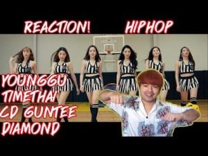 YOUNGGU – HIPHOP FT. TIMETHAI, CD GUNTEE, & DIAMOND   REACTION