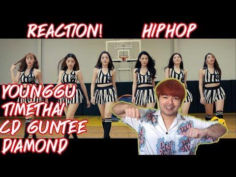 YOUNGGU – HIPHOP FT. TIMETHAI, CD GUNTEE, & DIAMOND | REACTION