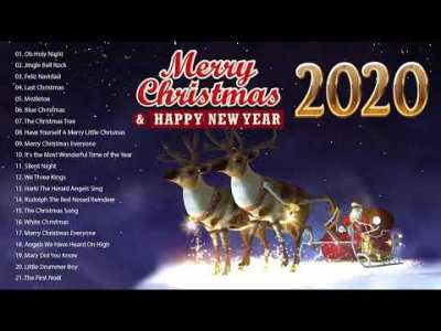 クリスマスソング 英語 メドレー❄ クリスマスソング ベスト2020 ❄ 子供向け定番クリスマスソング