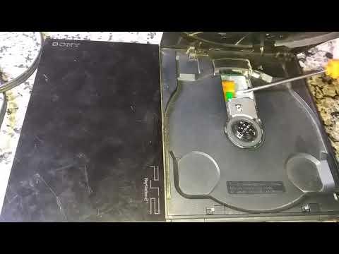 Ps2 não roda o disco ( cd ou dvd )