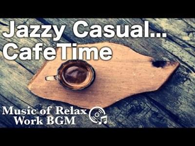 【作業用BGM・Jazz】午後のカフェタイムにJazzで読書や勉強に集中!